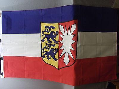 Fahne Rheinland - Pfalz, Größe 90cmx 150cm, 100% Polyester gebraucht