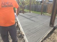CONCRETE WORK - steps, walkways, pads and more