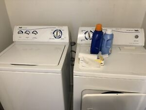 Washer/dryer, fridge and stove for sale June 1. Pick up only!