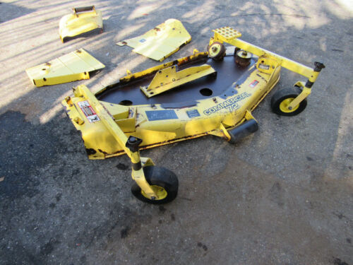"""F-1145 John Deere Rotary Mower Deck 72"""" Side Discharge - Shell with covers."""