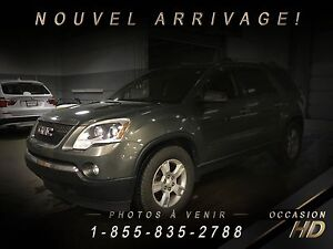 GMC Acadia 2011 + SLE2 + AWD + 7 PASSAGERS + CAMÉRA + CRUISE + T