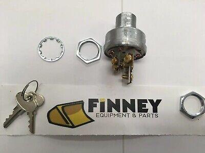 Gehl Skid Steer Key Switch Ignition 089069 Indak Gb89069 Loader Bobcat Key