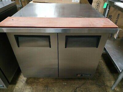 True 2-door Undercounter Refrigerator Tuc-36-34