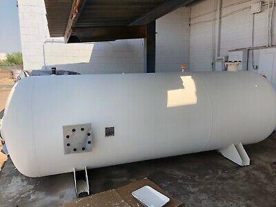 Manchester 1600 Gallon Steel Air Receiver Tank Storage Tank
