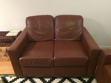 FREE Two Seater Leather Couch!! Mount Lawley Stirling Area Preview