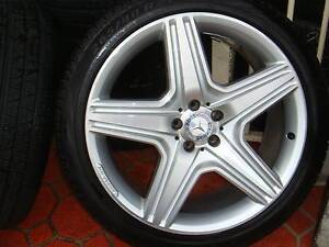 """Set Of 21"""" Genuine Mercedes AMG Rims 5 Stud x 112 PCD ! Green Valley Liverpool Area Preview"""