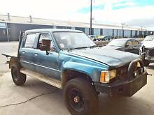 Wrecking 86 Toyota Hilux LN65 Dual Cab Tray MT 4WD, Parts $10 Up Port Adelaide Port Adelaide Area Preview