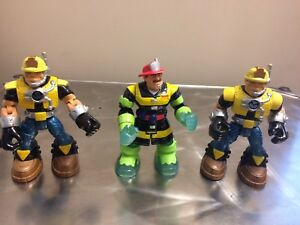 "6"" Rescue Heroes Action Figures"