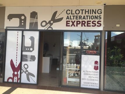 Wanted: Alteration and sewing Machinist required