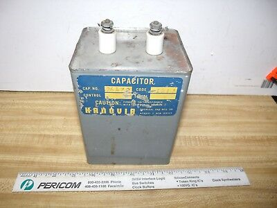 Capacitor Oil Filter 1.25uf To 10 Uf 2.5 Kv To 4 Kv Ham Radio
