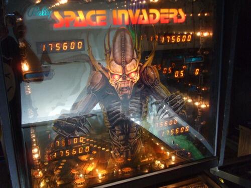"1980 BALLY ""SPACE INVADERS"" PINBALL MACHINE N/MINT WORKING! ALL ORIGINAL!"