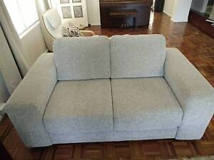 """Nick Scali """"Chicago"""" 2 and 3 Seater Lounge Hurlstone Park Canterbury Area Preview"""