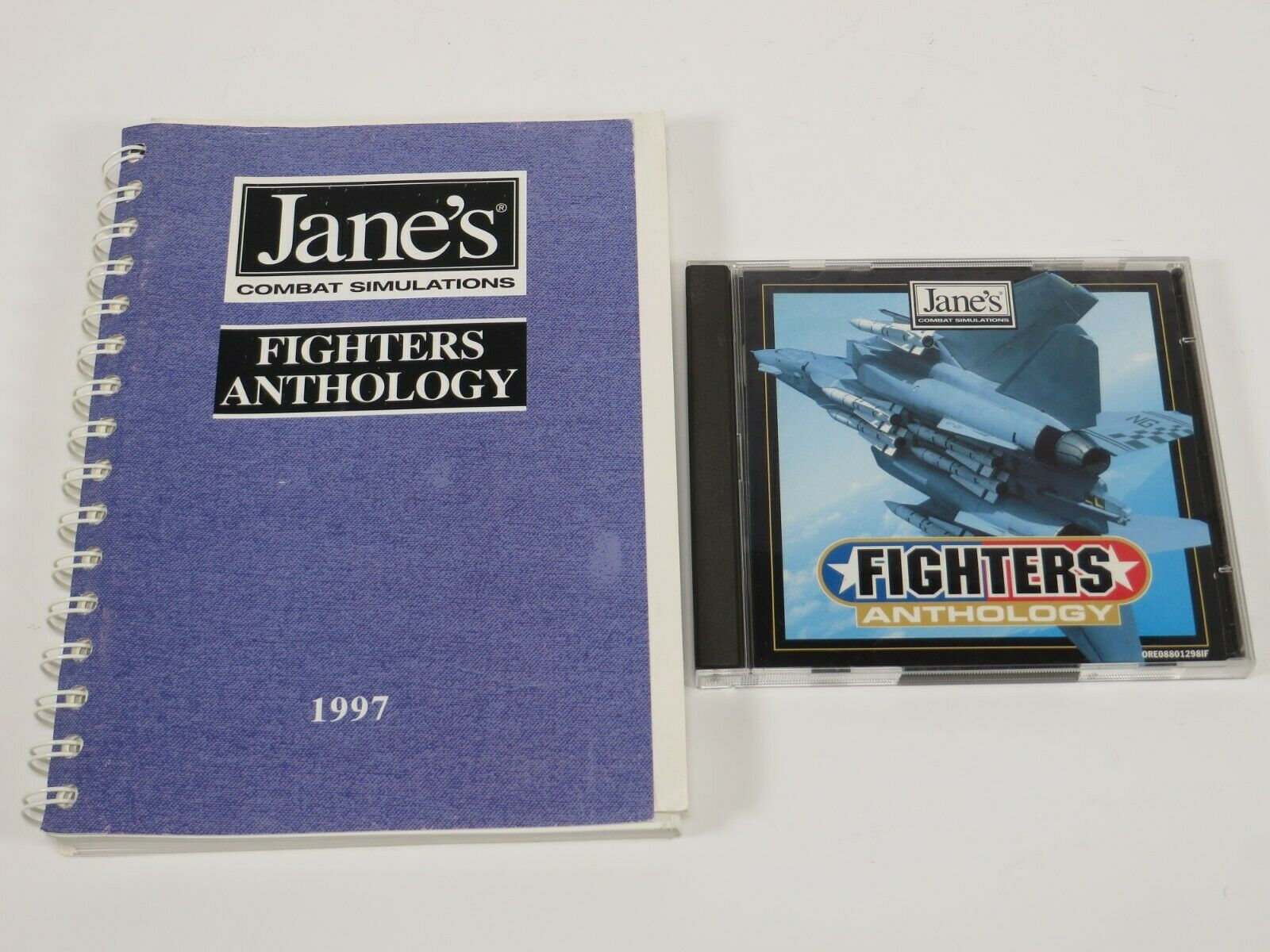Computer Games - Jane's Fighters Anthology (PC, 1997) PC Vintage Computer Game Electronics Arts