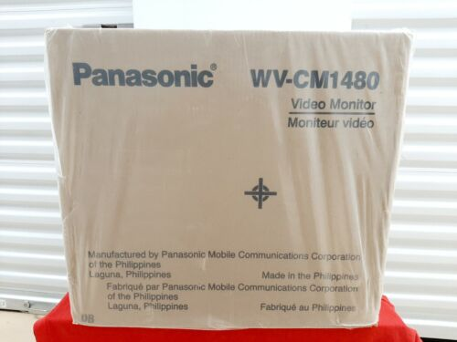 "Brand New Factory Sealed-PANASONIC WV-CM1480 14"" Color Security Video Monitor"