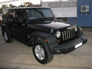 Jeep Wrangler Convertible Unlimited 2009 Mitchell Gungahlin Area Preview