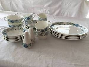 Wedgwood Dinner Service.  27 pcs, incomplete.Pattern – Clementine East Brisbane Brisbane South East Preview