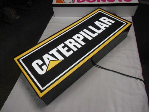 Catepillar Lighted Sign