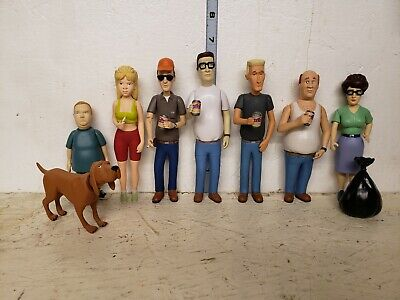 King of the Hill Figure Set no packages or fence sections
