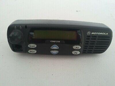 Motorola Cdm1250 Radio Control Head Face Plate Gcn6113b