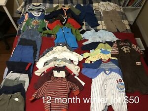 Huge 12 month fall/winter clothing lot