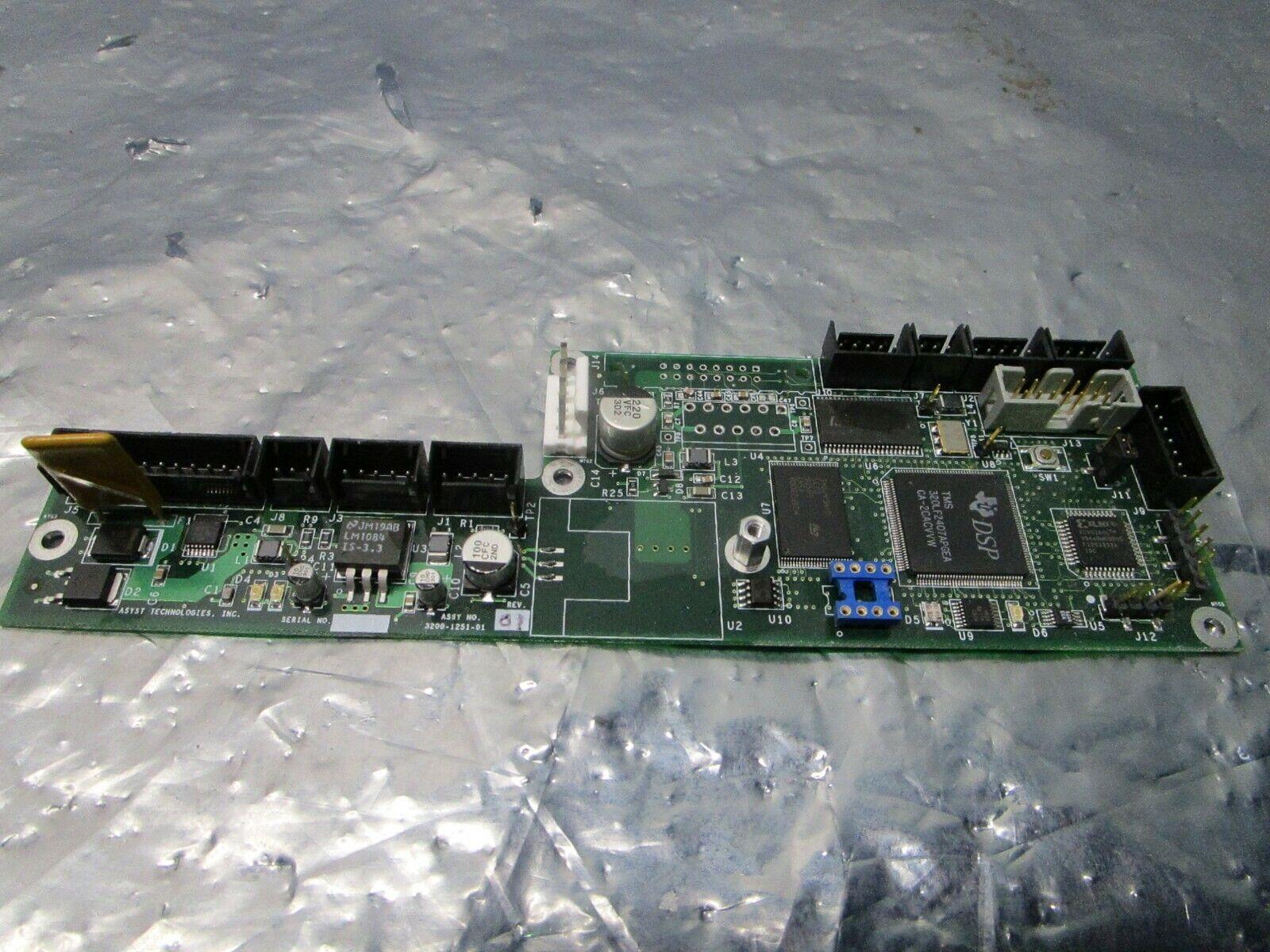 Asyst 3200-1251-01 Door Controller Board, PCB, FAB 3000-1251-01, 101182