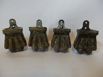 4x Vintage Antique Style Animal Feet Claw Wheel Castors for Table / Desk #IM102