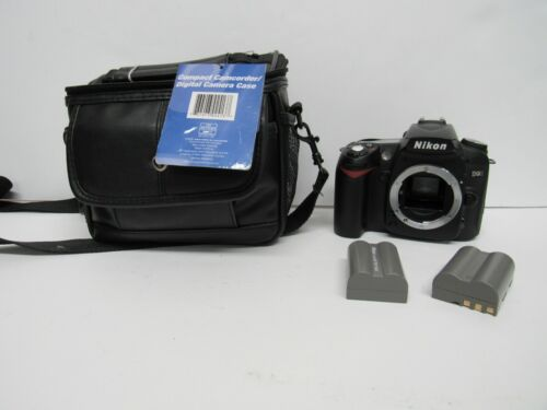 Nikon D90 DSLR Camera W/ 2 BATTERIES NO CHARGER
