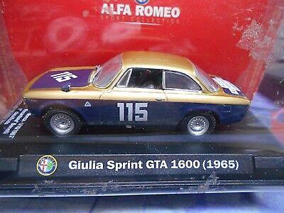 ALFA ROMEO Giulia GTA Sprint Gta 1600 1965 #115 Benelli Monza Coppa...