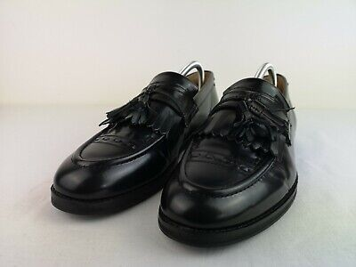 House Of Hounds Archer Tassel Loafers Black Size 10