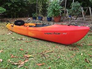 """Necky Vector 14FT sit on top Kayak Frenchs Forest Warringah Area Preview"