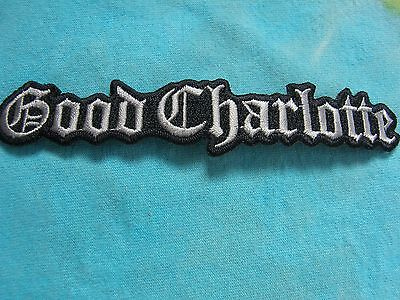 Good Charlotte Logo Iron On Patch