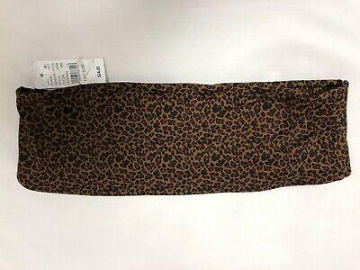 Kendall & Kylie Leopard Print Babe Bandeau Bikini Top sz: L