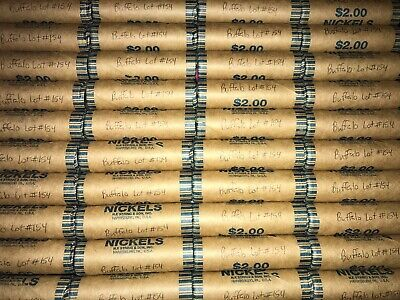 Unsearched Buffalo Nickel Roll *Read* Lot 154