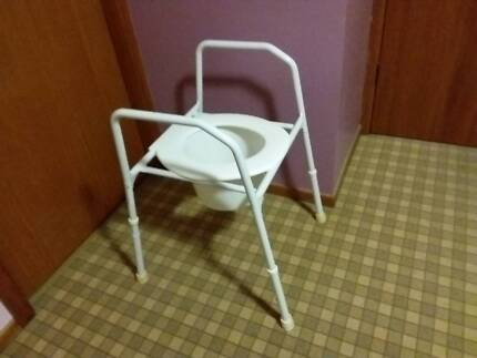 OVER TOILET SEAT / CHAIR /FRAME - GOOD, CLEAN CONDITION ...