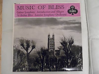 MUSIC OF BLISS ACE OF CLUBS ACL239 SIR ARTHUR BLISS LP