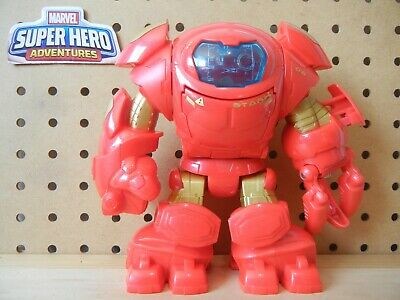 Playskool Marvel Super Hero Adventures Iron Man HULKBUSTER Stark Tech Armor - Hulkbuster Armor