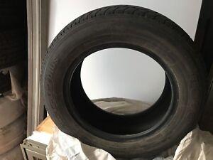 4 pneus hivers toyo 195 65 15 étaient sur un Volvo s60