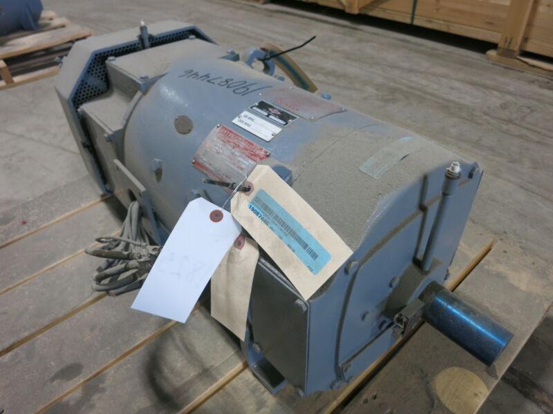 REBUILT General Electric DC Motor CD288AT 15 HP 500 V 1750/2300 RPM TEFC GE 15HP