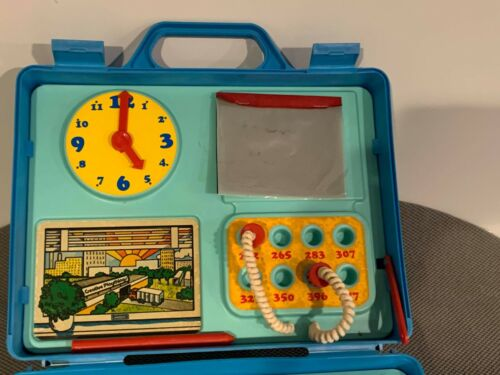 Vintage 1978 Lil Boss Creative Playthings Toy Set w/ Typewriter