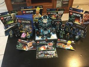 PS4 Lego Dimensions Starter set & 4 Extra packs Springfield Lakes Ipswich City Preview