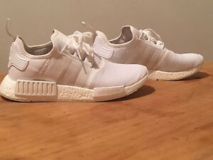 NMD_R1 Adidas Triple white UK 9 Sydenham Marrickville Area Preview