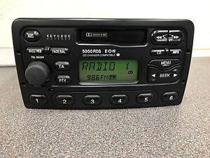 Ford 5000 Rds Eon car radio stereo Player Fiesta Transit Escort Mondeo Etc +Code