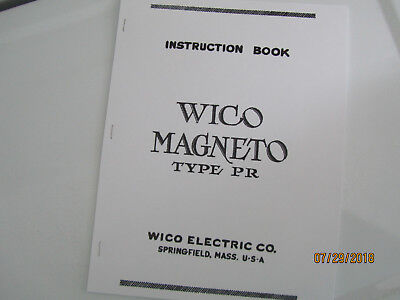 Large Version Of Wico Magneto Pr Instruction Manual Hit Miss Ihc