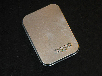 Unused 2003 ZIPPO Black Chrome Leaping Bass Cigarette Cigar Windproof Lighter