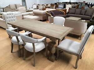 Classical French Provincial Dinning Chairs Sefton Bankstown Area Preview