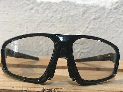OAKLEY FIELD JACKET photochromic clr black/schwarz glanz Bikebrille selbsttönend