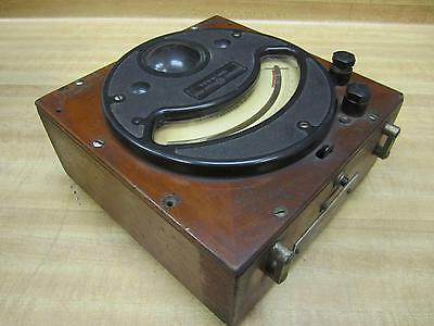 General Electric 701660 Vintage Industrial Amp Meter Wo Lid Antique