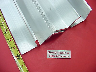 4 Pieces 2x 2x 14 Aluminum 6061 Angle Bar 48 Long T6 Extruded Mill Stock