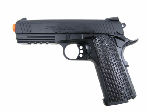 JG OPS Tactical .45 Full Metal Gas Blowback Airsoft Pistol