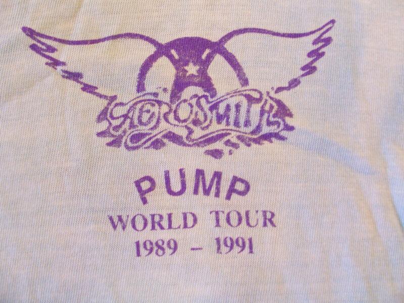 Aerosmith Pump Crew shirt XL